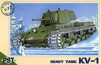 Тяжелый танк КВ-1 (масштаб: 1/72)
