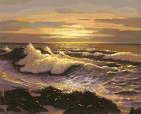 "Картина по номерам ""Океанский прибой"" (500х400 мм)"