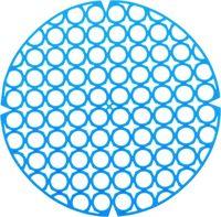 Коврик для раковины пластмассовый (275 мм)