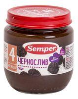 """Детское пюре Semper """"Чернослив"""" (125 г)"""