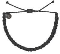 Браслет плетённый (чёрный)