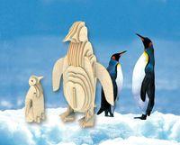 """Сборная деревянная модель """"Пингвин"""""""