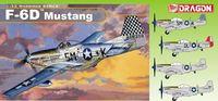 """Истребитель """"Mustang F-6D """" (масштаб: 1/32)"""