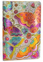 """Еженедельник Paperblanks """"Бабочки"""" на 2017 год (формат: 135x210 мм, макси)"""