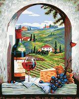 """Картина по номерам """"Итальянские каникулы"""" (400х500 мм; арт. PC4050203)"""