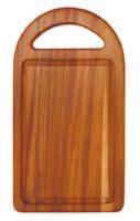 Доска разделочная деревянная (350х195х15 мм; арт. 9/884)