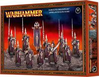 "Набор миниатюр ""Warhammer FB. Finecast: Dark Elves Dreadspears / Darkshards / Bleakswords"" (85-07)"