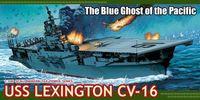 """Авианосец """"U.S.S. Lexington CV-16"""" (масштаб: 1/700)"""