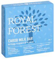 "Шоколад из кэроба ""Royal Forest. Ягоды годжи и изюм"" (75 г)"