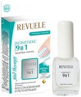 """Средство для укрепления ногтей 9в1 """"Revuele"""" (9 мл)"""