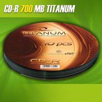 Диск CD-R 700Mb Esperanza Titanium bulk 10