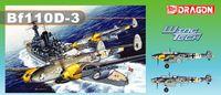"""Истребитель """"Bf110D-3"""" (масштаб: 1/32)"""