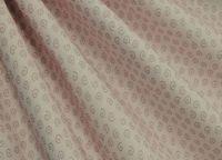 """Ткань """"Разноцветный горошек и завитушки"""" №48"""