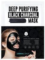 """Тканевая маска для лица """"Deep Purifying Black Charcoal"""" (25 г)"""