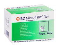 Иглы к шприц-ручкам BD Micro-Fine Plus 32G (0,23х4мм) №100