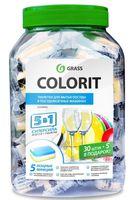 """Таблетки для посудомоечных машин """"Colorit"""" (35 шт.)"""