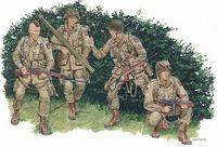 """Набор миниатюр """"U.S. Airborne Normandy 1944"""" (масштаб:1/35)"""
