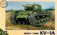 Тяжёлый танк КВ-1А (масштаб: 1/72)