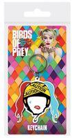 "Брелок ""Birds Of Prey. Harley Quinn Caution"""