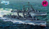 """Эсминцы """"U.S.S. Laffey DD-459 1942"""" (масштаб: 1/700)"""