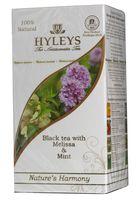 """Чай черный """"Hyleys. Гармония природы"""" (25 пакетиков; с мелиссой и мятой)"""