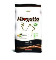 "Корм сухой для кошек ""Miogatto"" (400 г; курица и рис)"
