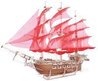 """Сборная деревянная модель """"Корабль Пегас"""""""