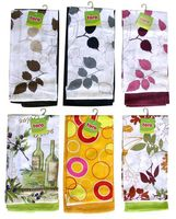 Набор полотенец текстильных (2 шт.; 380x630 мм)