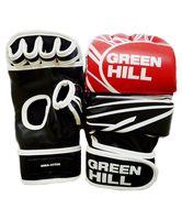 Перчатки MMA-0055R (XL; красно-чёрно-белые)