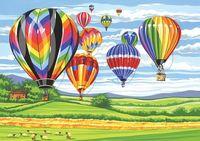 "Картина по номерам ""Воздушные шары"" (300х400 мм)"