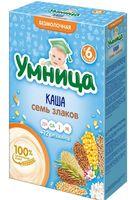 """Детская каша Умница """"7 злаков"""" (200 г)"""