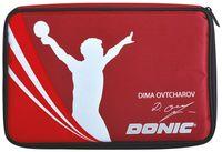 """Чехол для ракетки для настольного тенниса """"Ovtcharov Plus"""" (красный)"""
