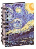 """Скетчбук """"Ван Гог. Звездная ночь"""" (А6)"""