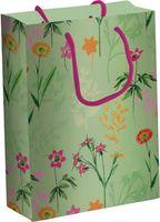 """Пакет бумажный подарочный """"Цветы"""" (33х43х10 см; арт. 091-3343-PBg)"""