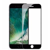 Защитное стекло Calans для iPhone 6/6S (черное)