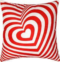 "Подушка ""Полосатое сердце"" (35x35 см; арт. 08-859)"