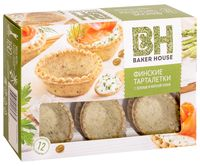 """Тарталетки """"Baker House. С зеленью и морской солью"""" (180 г)"""