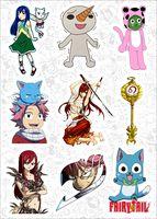 """Набор наклеек №149 """"Fairy Tail"""""""