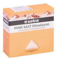 """Соль розовая гималайская """"Setra. Мелкая"""" (500 г)"""