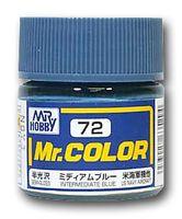 Краска Mr. Color (Intermediate dlue, C72)