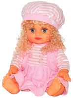 Кукла в розовом костюме (в сумке)