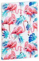 """Обложка на паспорт """"Розовый фламинго"""""""
