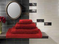 Полотенце махровое (70x140 см; красное)
