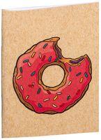 "Блокнот крафт ""Пончик. Симпсоны"" А7 (арт. 001)"