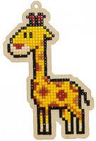 "Алмазная вышивка-мозаика ""Брелок. Жираф"" (81х125 мм)"