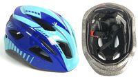 Шлем велосипедный детский (M; синий; арт. 03-2M)