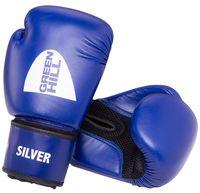 """Перчатки боксёрские """"Silver"""" BGS-2039 (10 унций; синие)"""