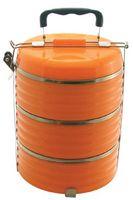 Набор контейнеров для еды металлических (3 шт.; 600 мл)