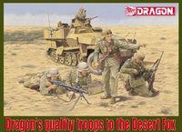 "Набор миниатюр ""Afrika Korps Panzergrenadier El Alamein 1942"" (масштаб: 1/35)"