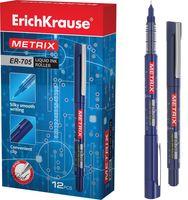 """Ручка-роллер синяя """"Metrix ER-705"""" (0,6 мм)"""